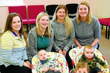Mums get ready to offer peer support