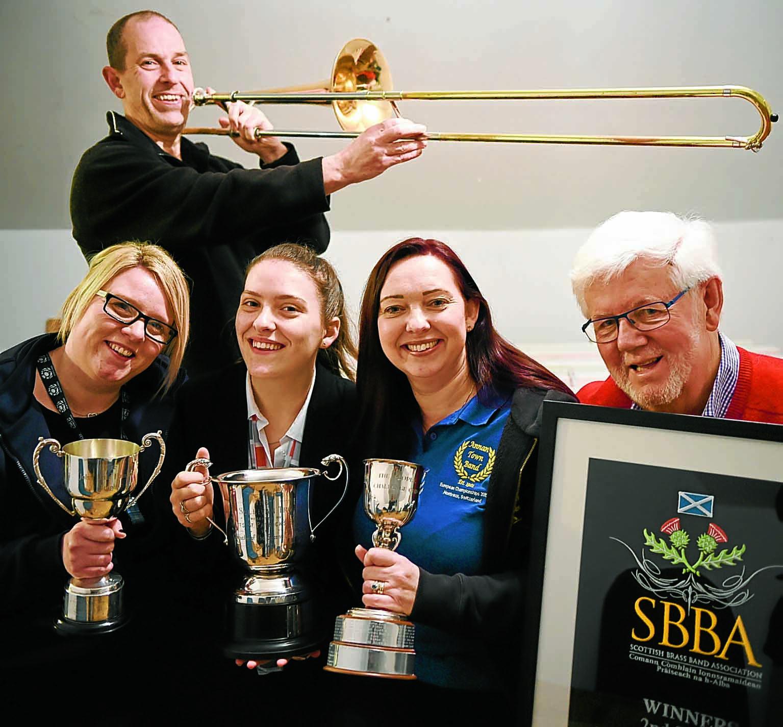 Annan band best in Scotland