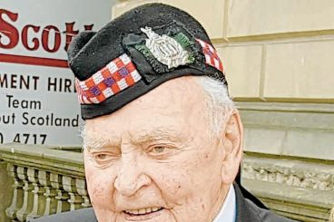 KOSB veteran recalls end of the war