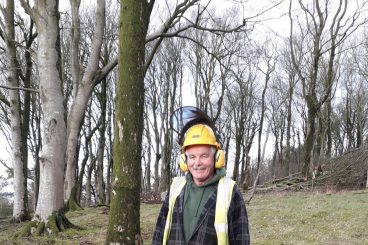 Forestry lecturer takes his leaf