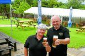 Beer gardens back in business