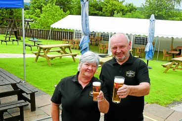 Beer gardens back in business