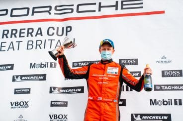 First Porsche podium for Wylie