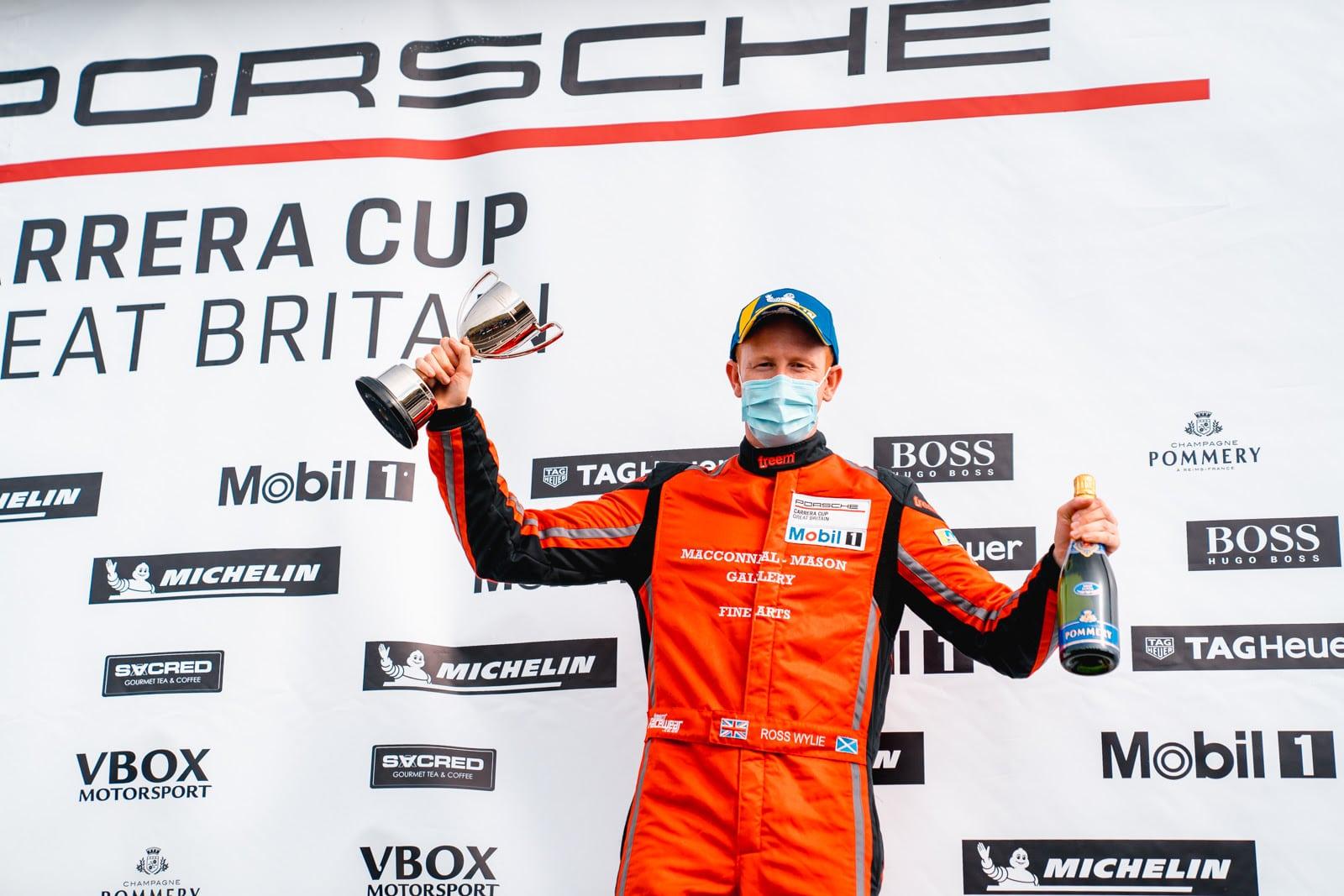 First Porsche podium for Wylie