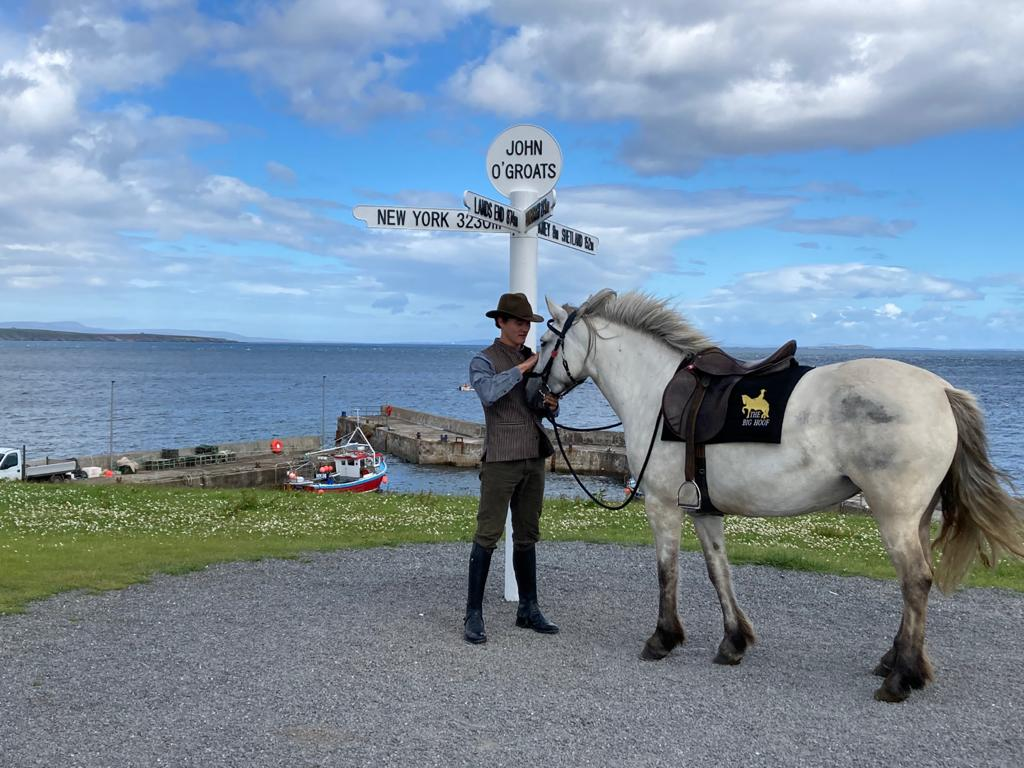 Charity horse ride passes through Moffat
