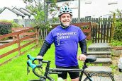 Charity cycle keeps Paul in the saddle