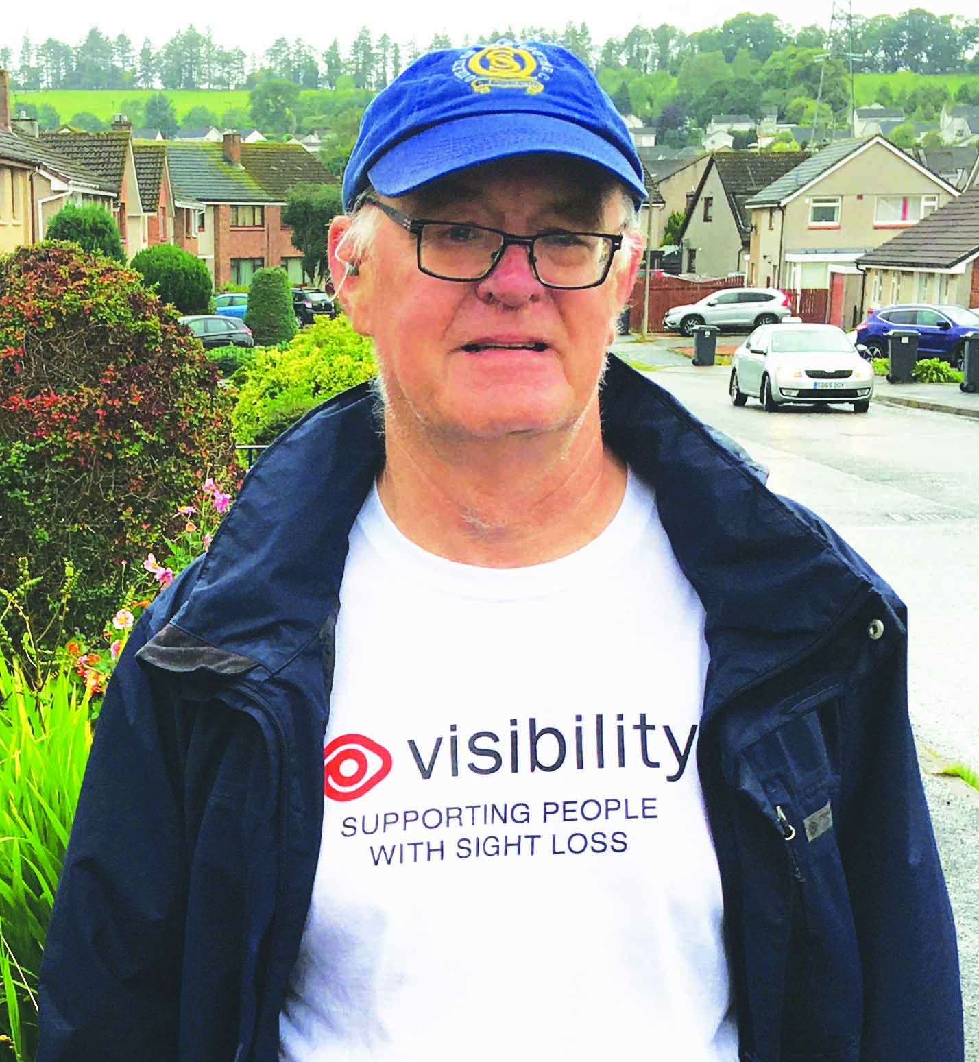 Colin completes Everest charity challenge