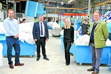Praise for regional laundry company