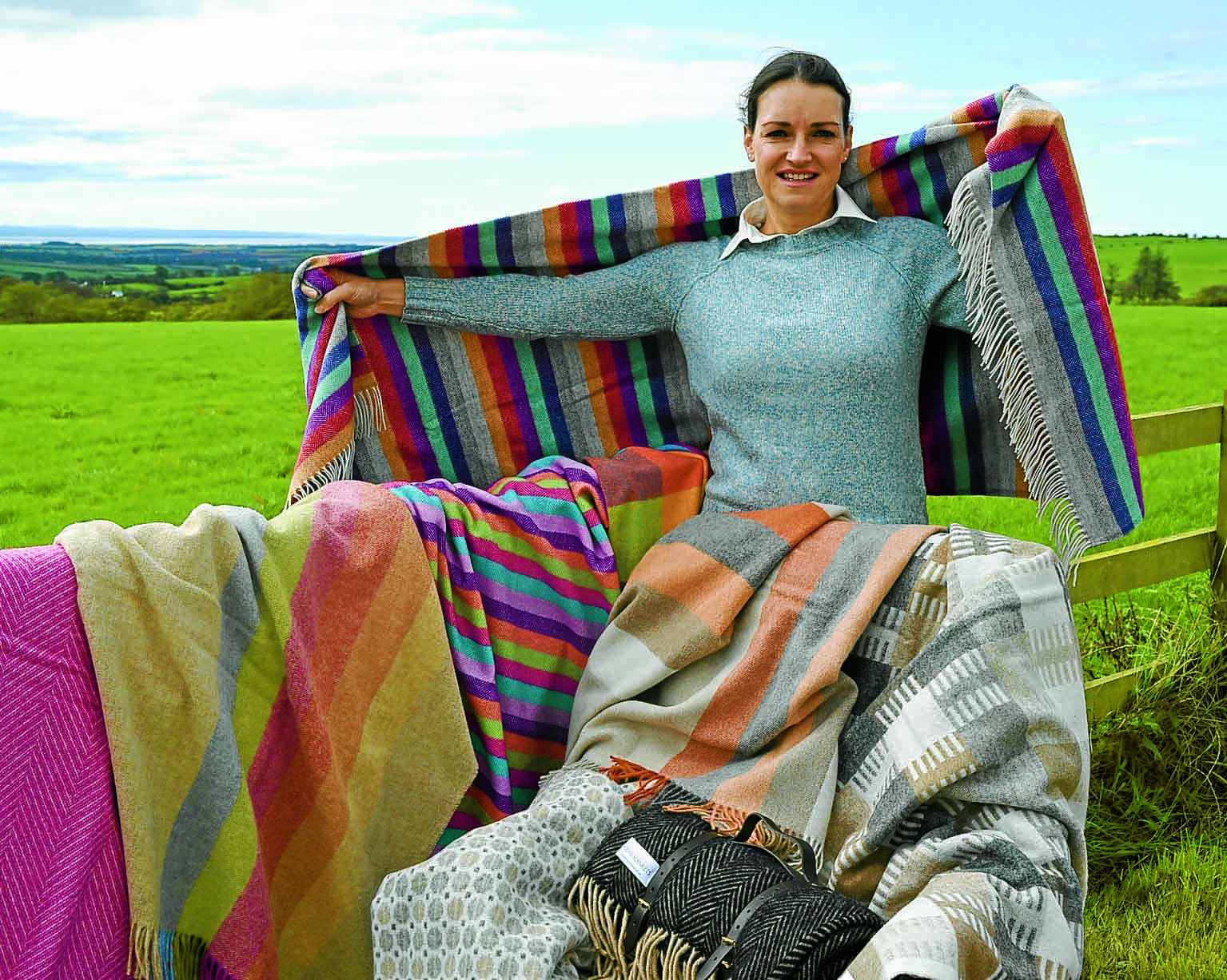 Great British blankets get TV time