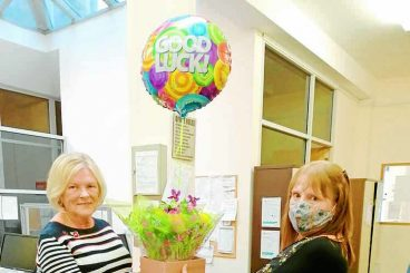 Stalwart Jenny bows out at advice service