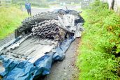 Asbestos dumped on farm