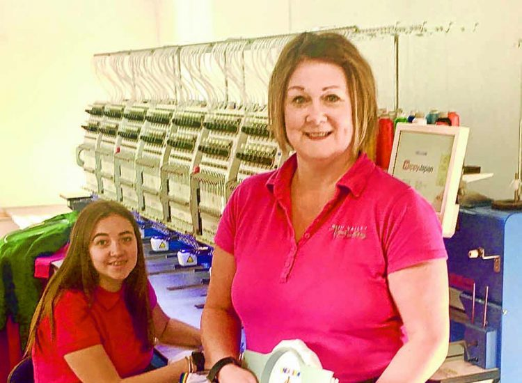 Nith Valley Embroidery sews up a storm