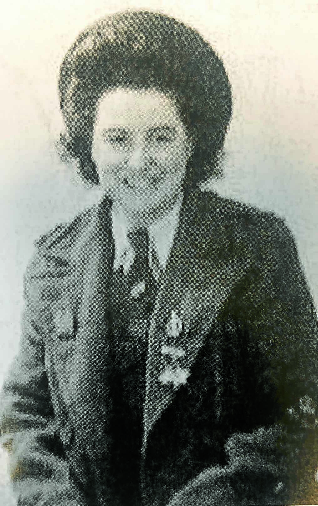 Land Army veteran  shares her story