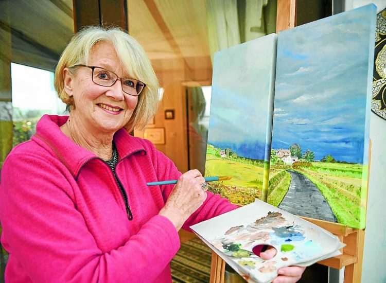 Ilse reveals her hidden artistic talents