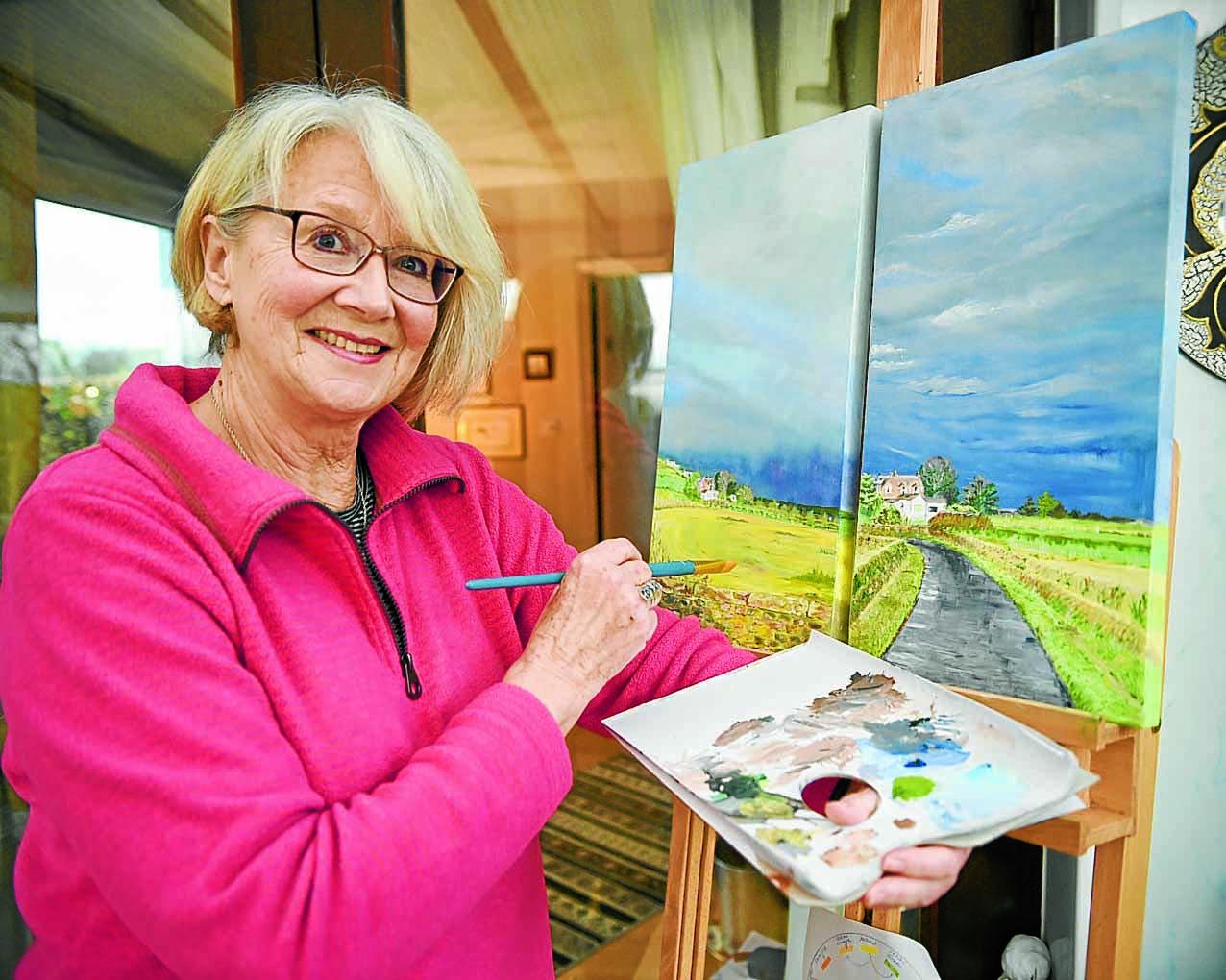 Ilse reveals her hidden artistic talents