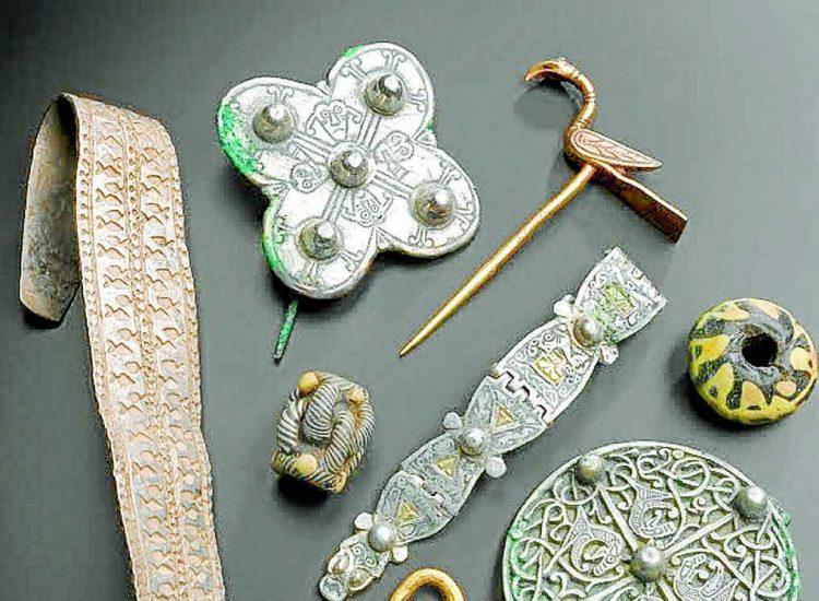 Viking treasures heading home