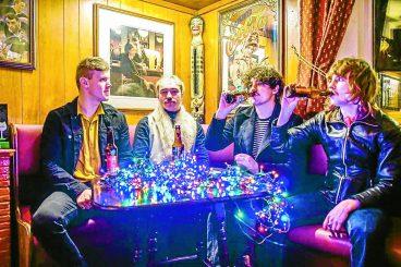 Band in Xmas chart push