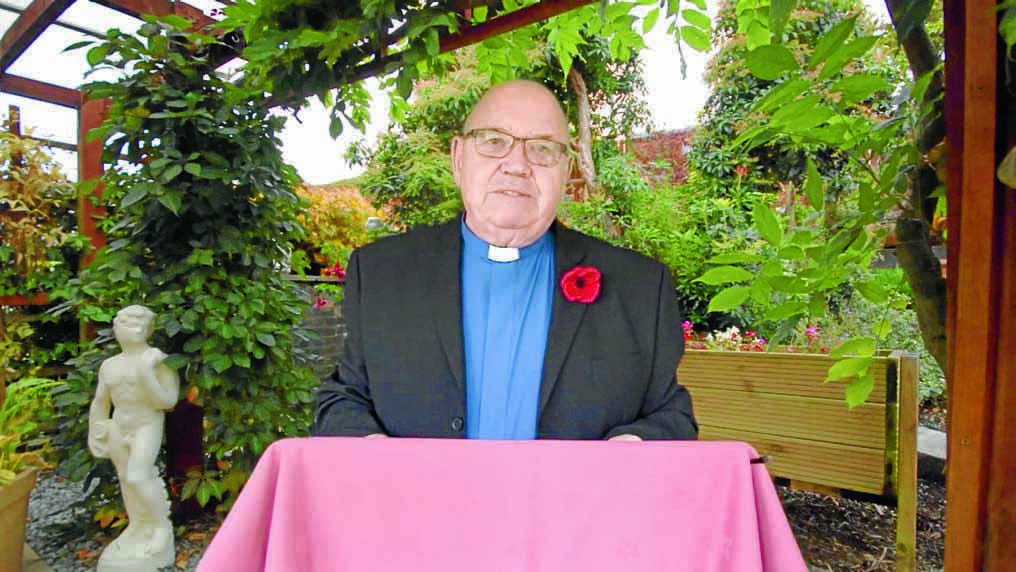 Minister keeps worship alive for care home residents