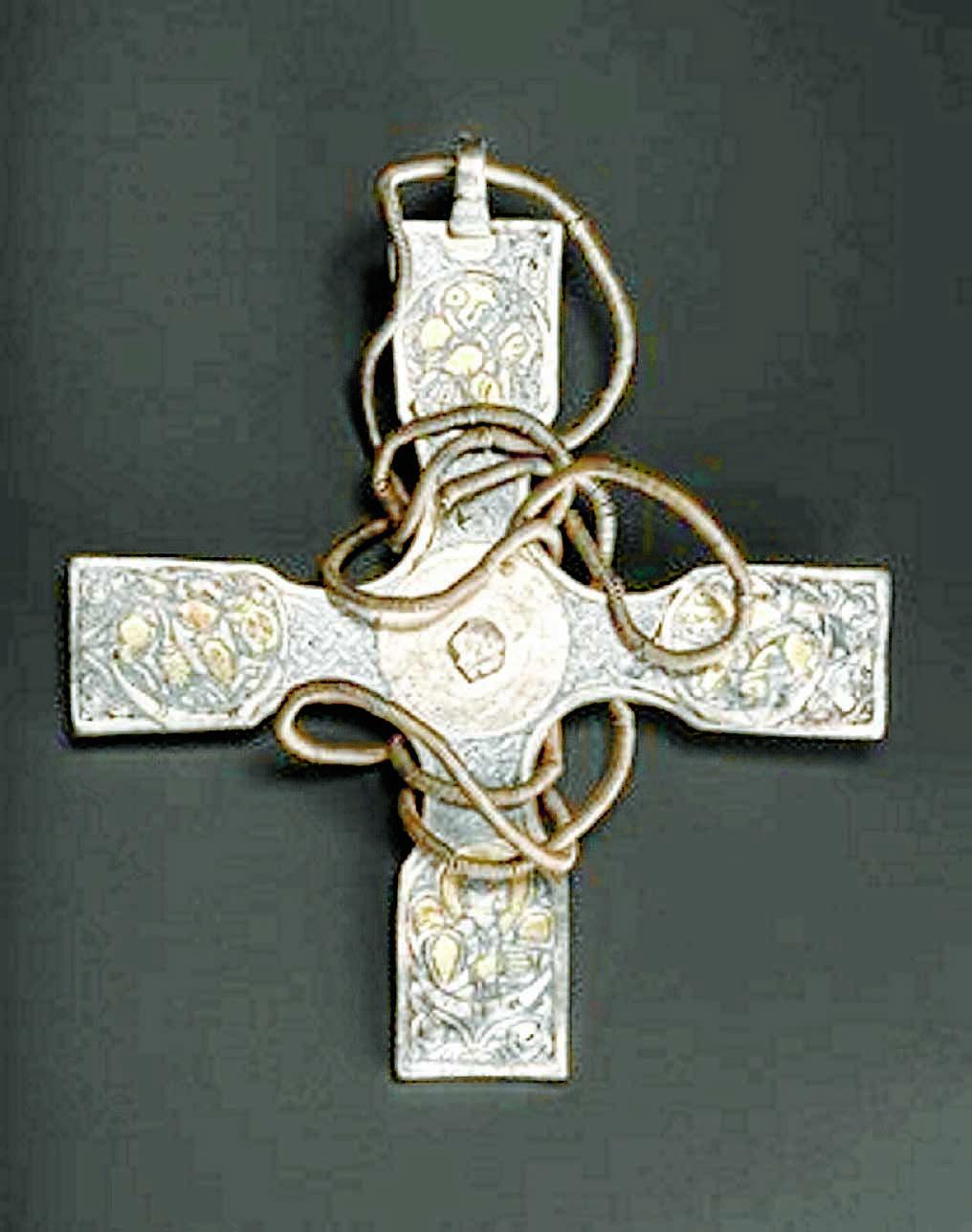 Rare ancient cross restored to full glory