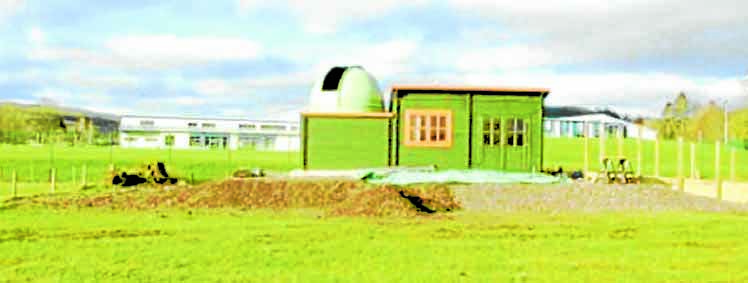 Observatory nearly ready to open