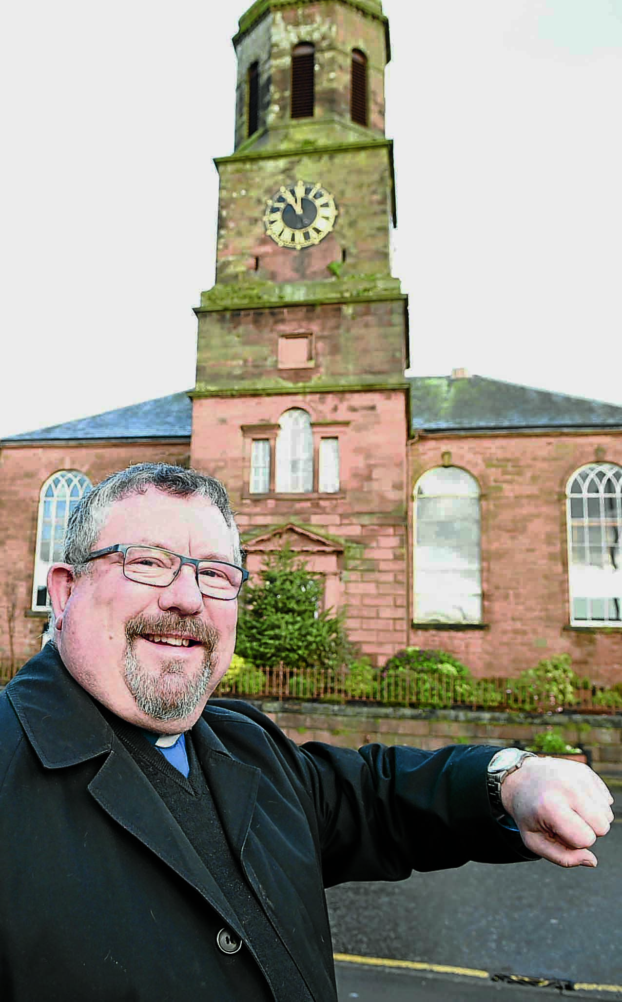 Town clock is ticking again