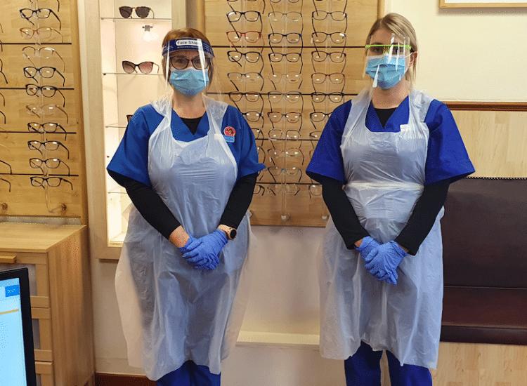 Eyecare still available in lockdown