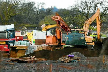 Man dies on Annan building site