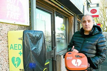 Anger as second defibrillator damaged