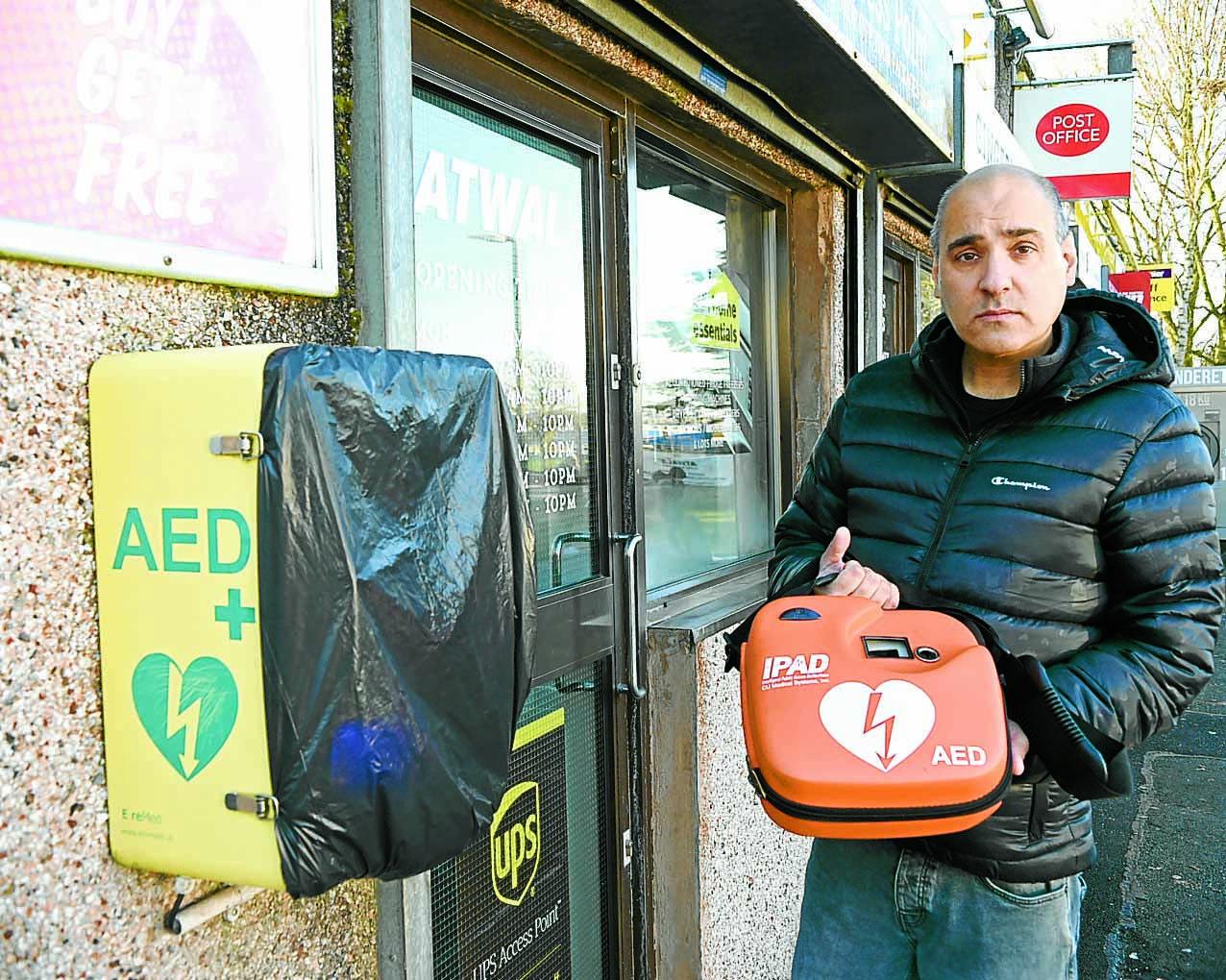 Anger as second defibrillator damaged