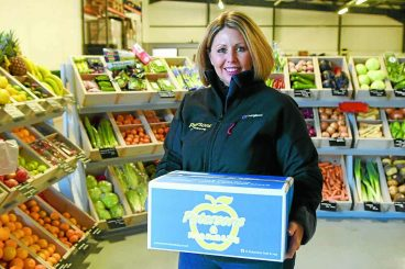 Greengrocer slams paltry food boxes