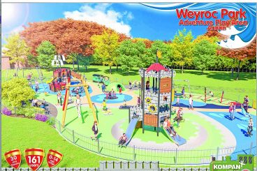 £500k super playpark design revealed