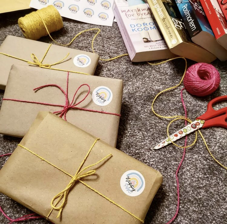 Pam shares her love of books around the world