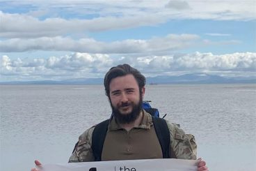 Former soldier marches out on UK walk