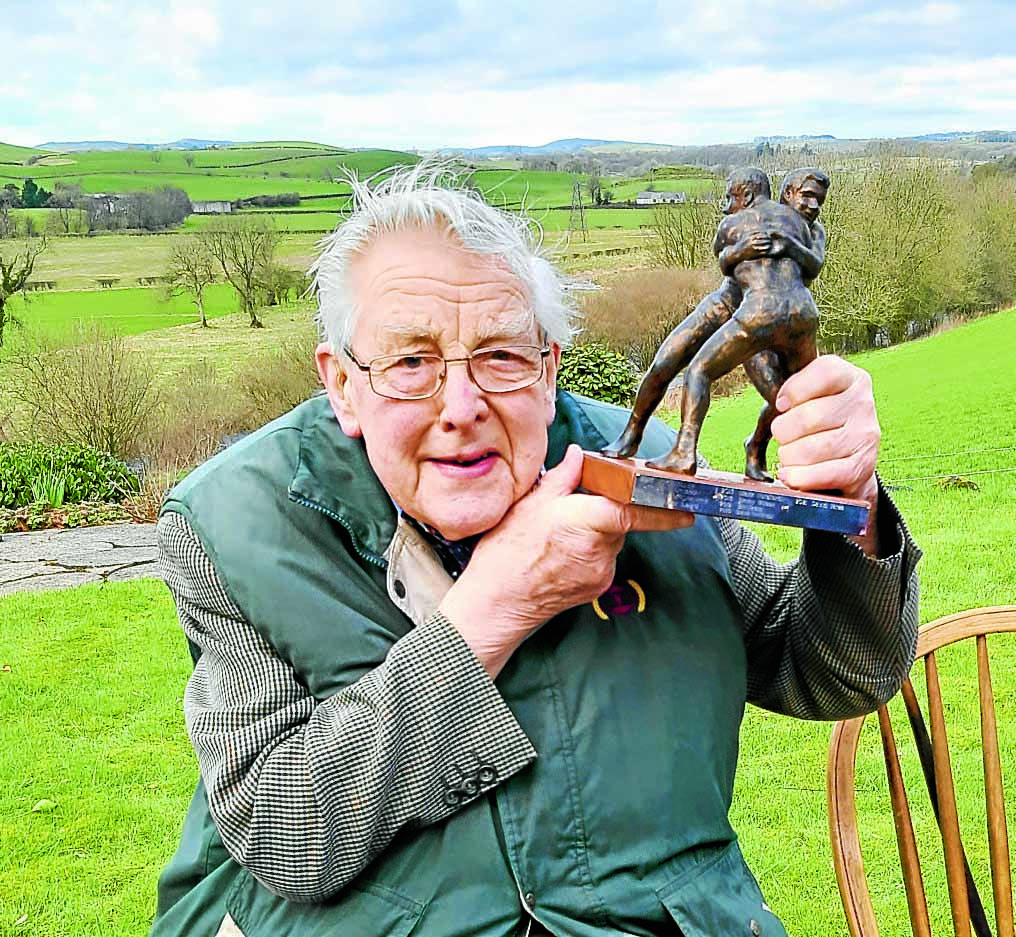 Lifetime award for breeder and dairy icon