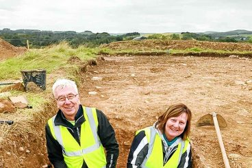 Exciting nut find reveals area's past