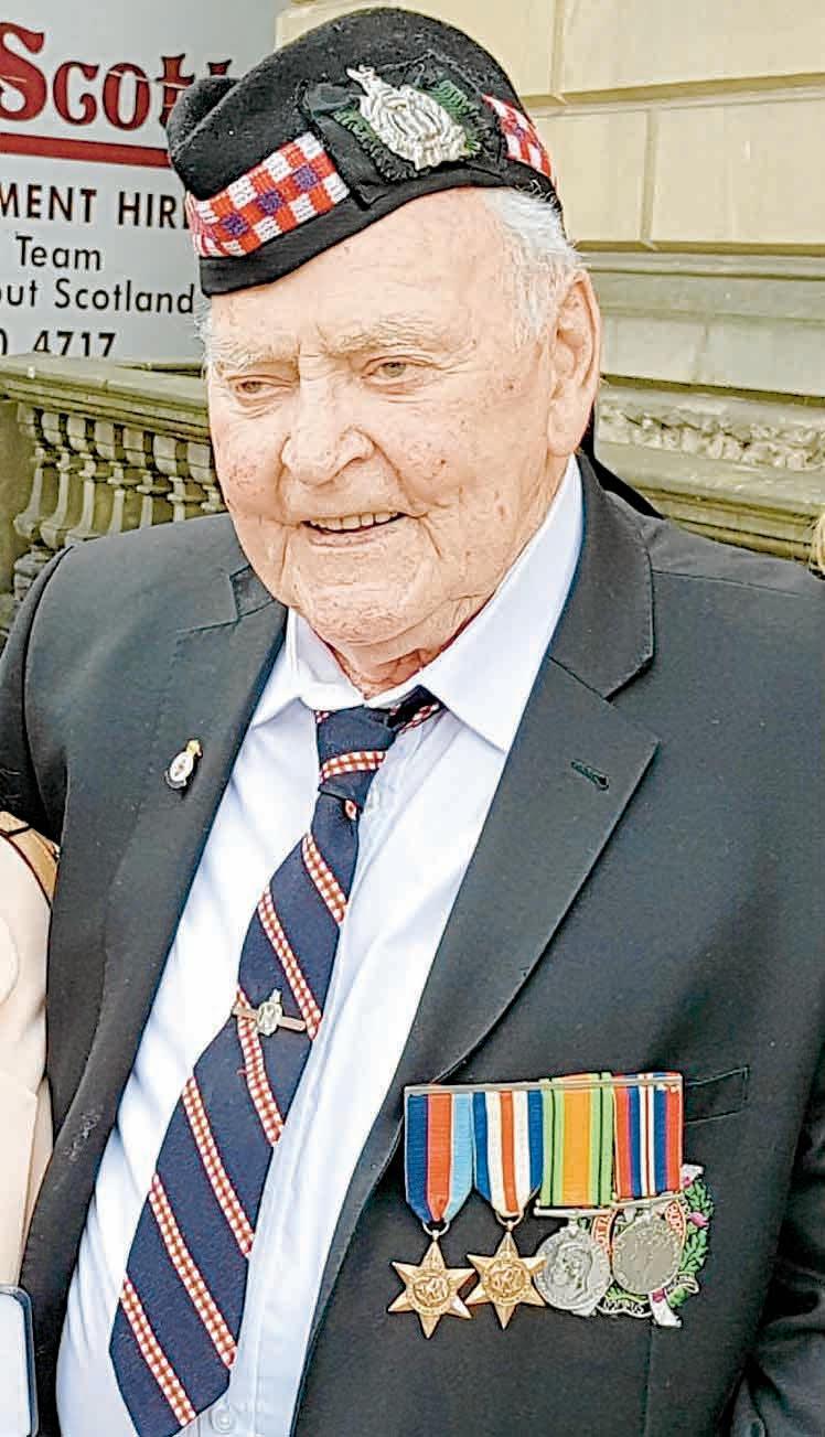 Remembering Private James Robertson