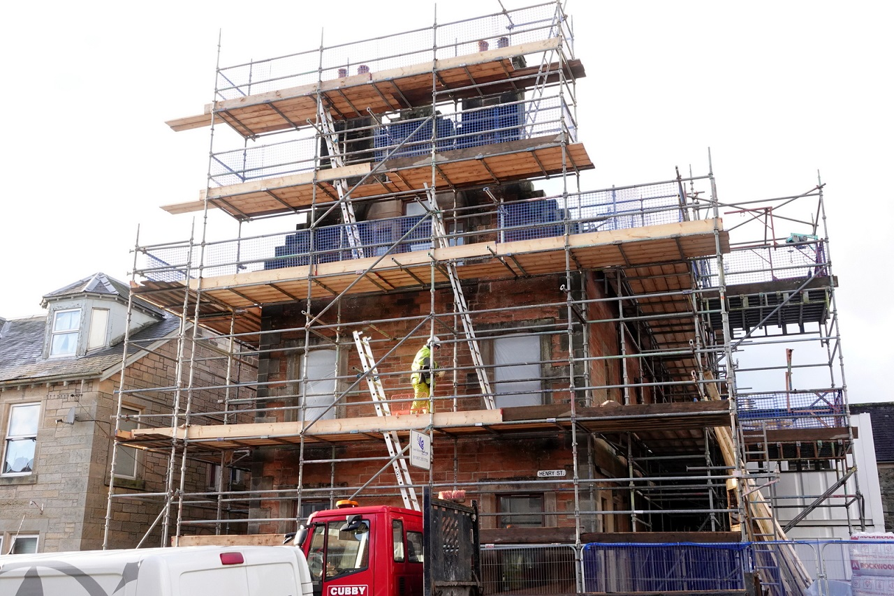 Police station flats plan gets final funding