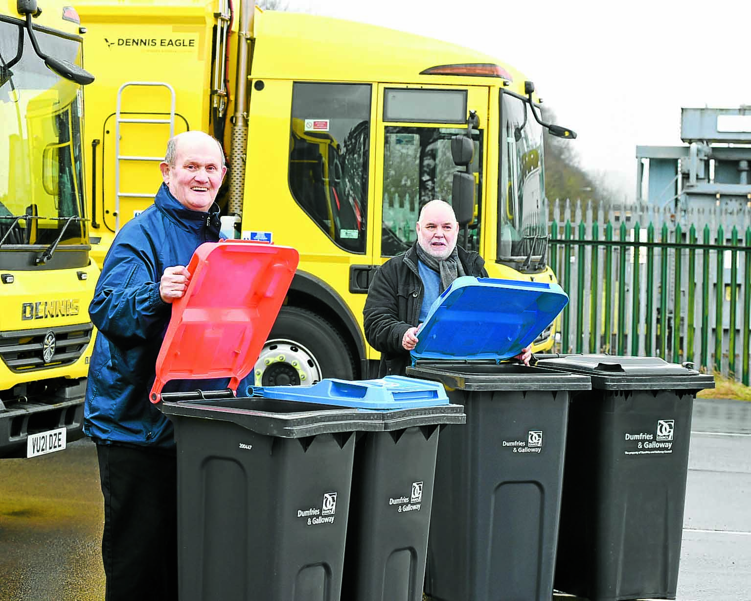 Recycling scheme is working well