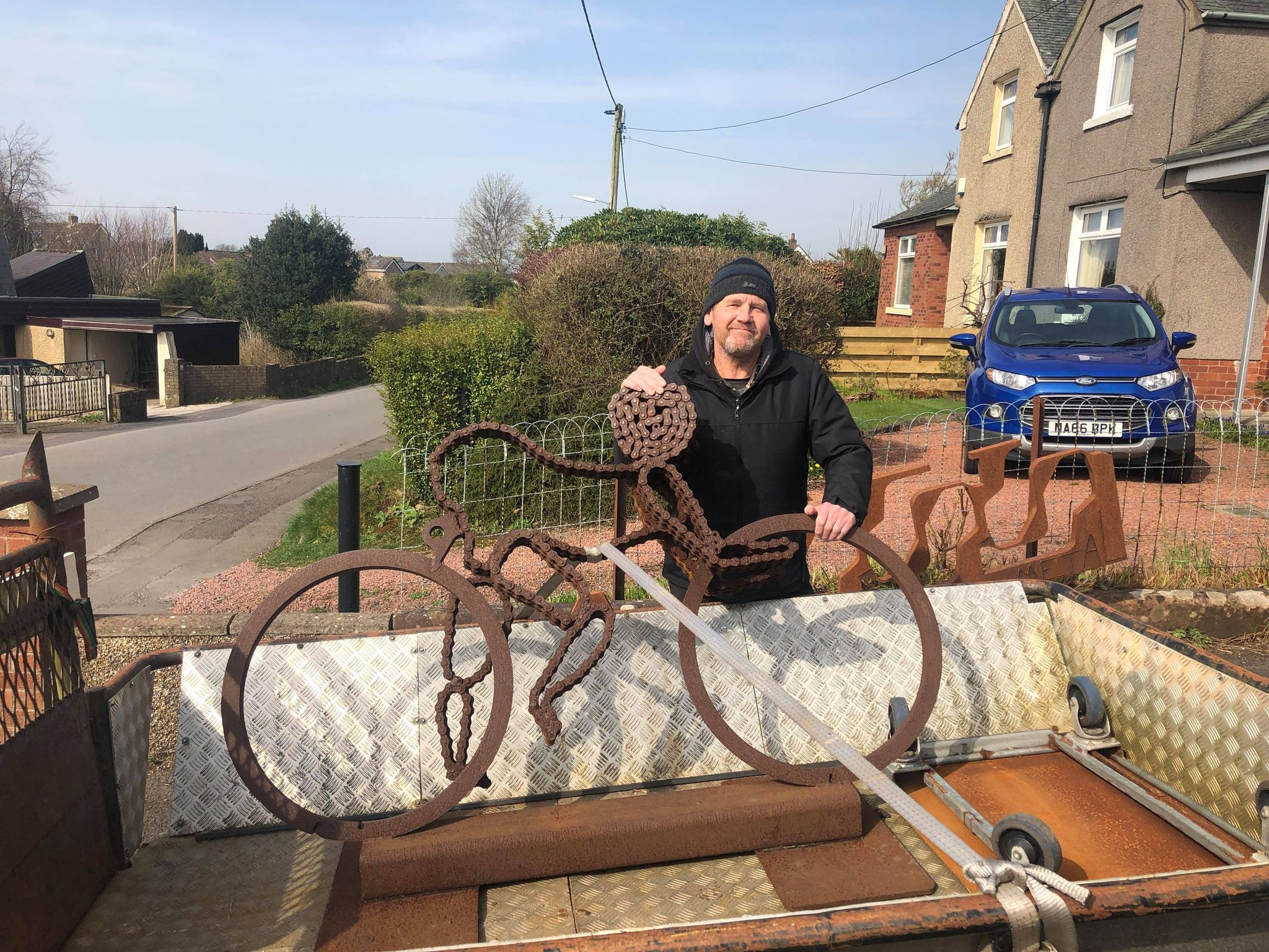 New homes sought for sculptures