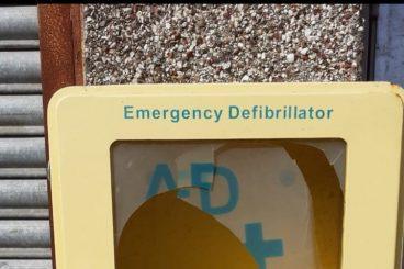 Police: Defibrillator was not vandalised