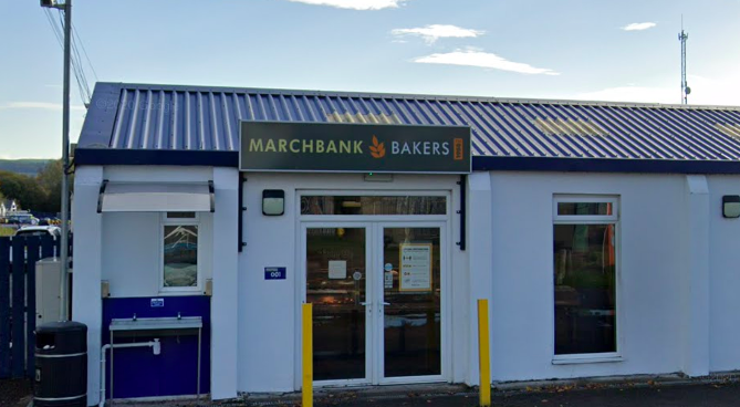 Raiders target two Dumfries bakeries