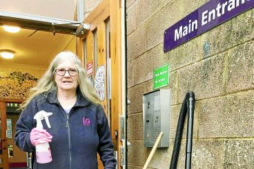 Schooldays come to an end for Eileen