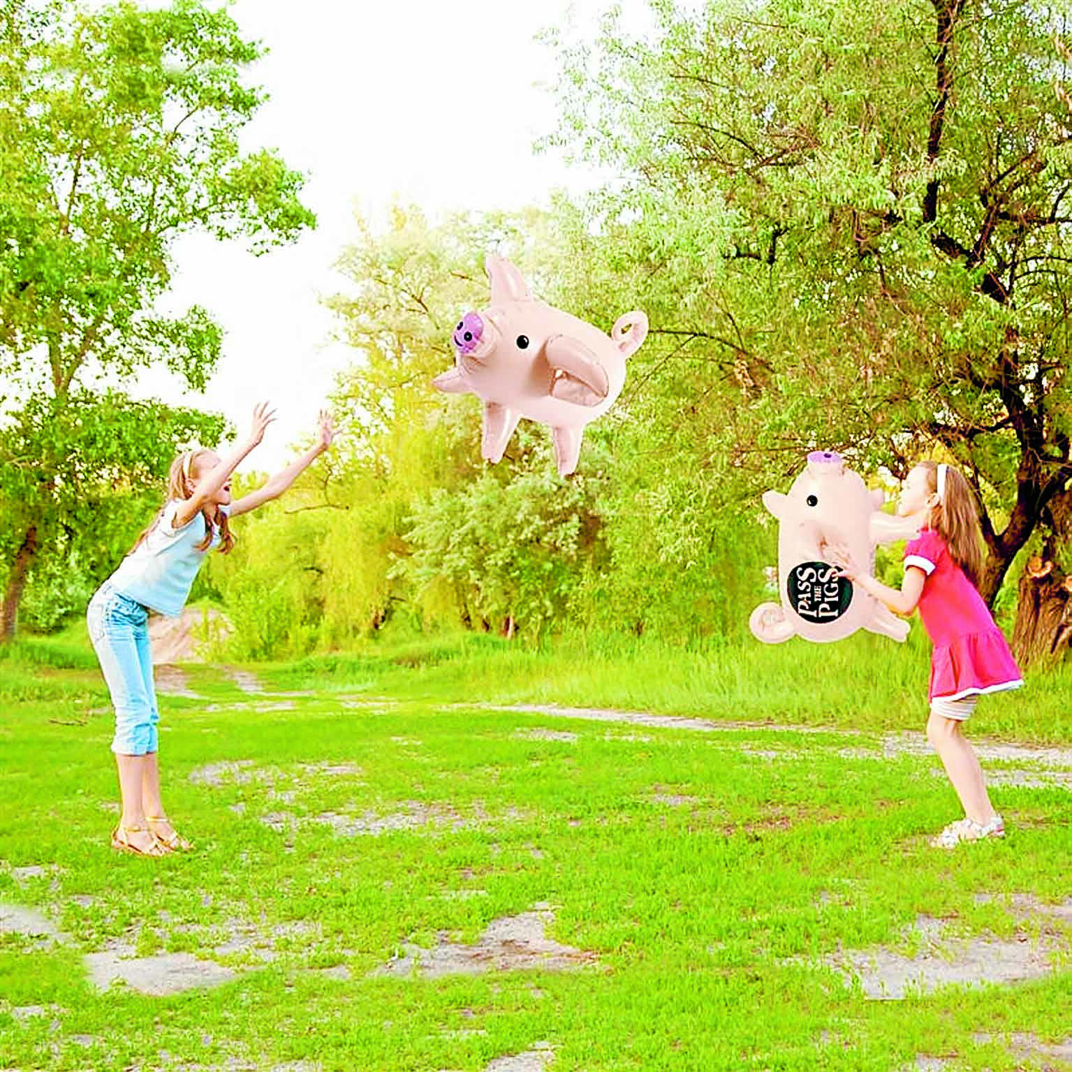 Have fun this summer with Giant Pass the Pigs!