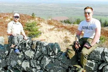 Upland Way challenge for fundraising friends