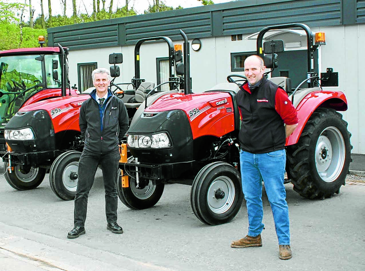 New tractors for Barony students
