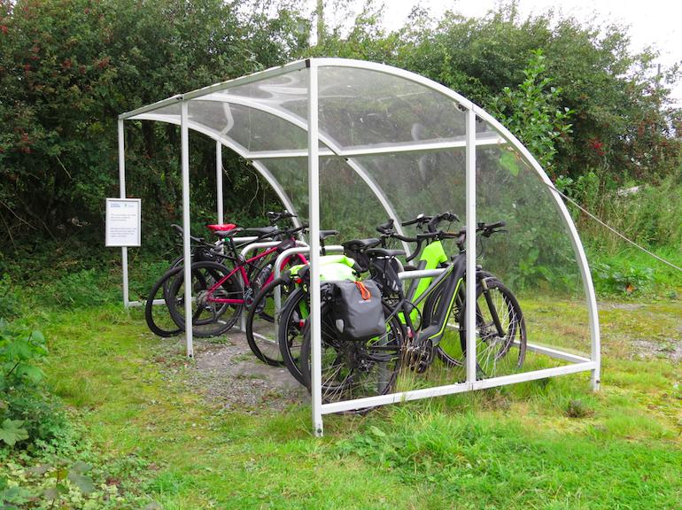 Wildlife centre staff get on their bikes
