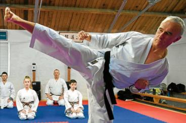 Karate master's joy at Annan's dedicated Dojo
