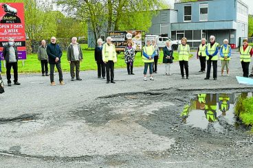 Action on eyesore road