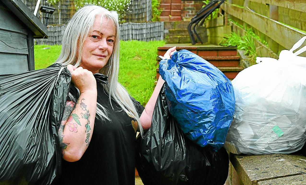 Plastic is not fantastic for Cheryl