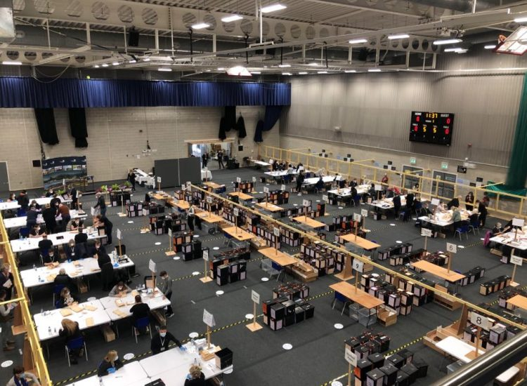 Election 2021: Vote count gets underway in Dumfries